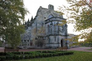 Rosslin Chapel, near Edinburgh, Scotland